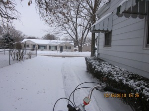 my driveway plowed anonymously