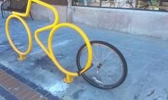 wheel in lock bike gone